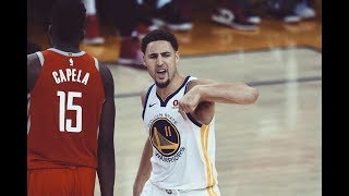 Warriors' Klay Thompson Pours in 35 Points to Force Game 7 vs. Rockets
