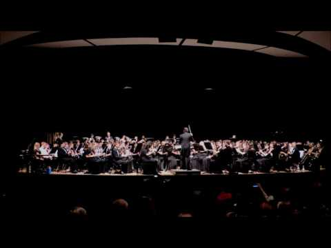 "2017 Grafton Combined Mass Concert Band - ""Star Trek"""
