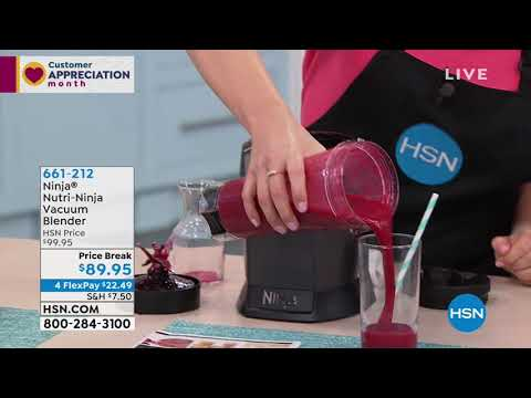 Ninja NutriNinja Vacuum Blender with FreshVac Technology