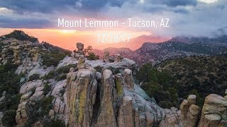 Mount Lemmon - Tucson, Arizona 12/18/2017 - 4k Aerial Drone Footage