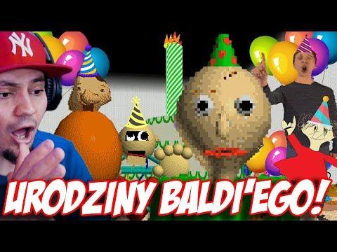 🎂 URODZINY BALDIEGO! *dzień nauczyciela lol* | Baldi's Basics Birthday Bash #01