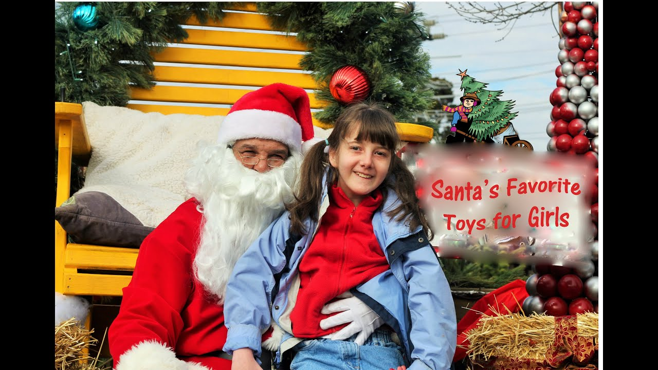 SANTA CLAUS Santa s Favorite Toys for Girls 🎄