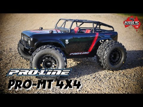 Proline Pro-MT 4x4 First Run On 3S & 4S