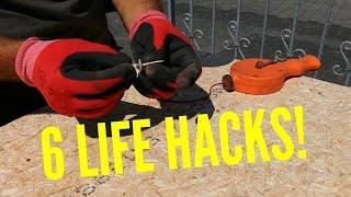 Dachdecker / 6 nützliche Lifehacks die dein Arbeitsalltag erleichtern!