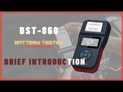 mediatime.sn Launch Tech 307050060 BST-860 Portable Battery Tester ...