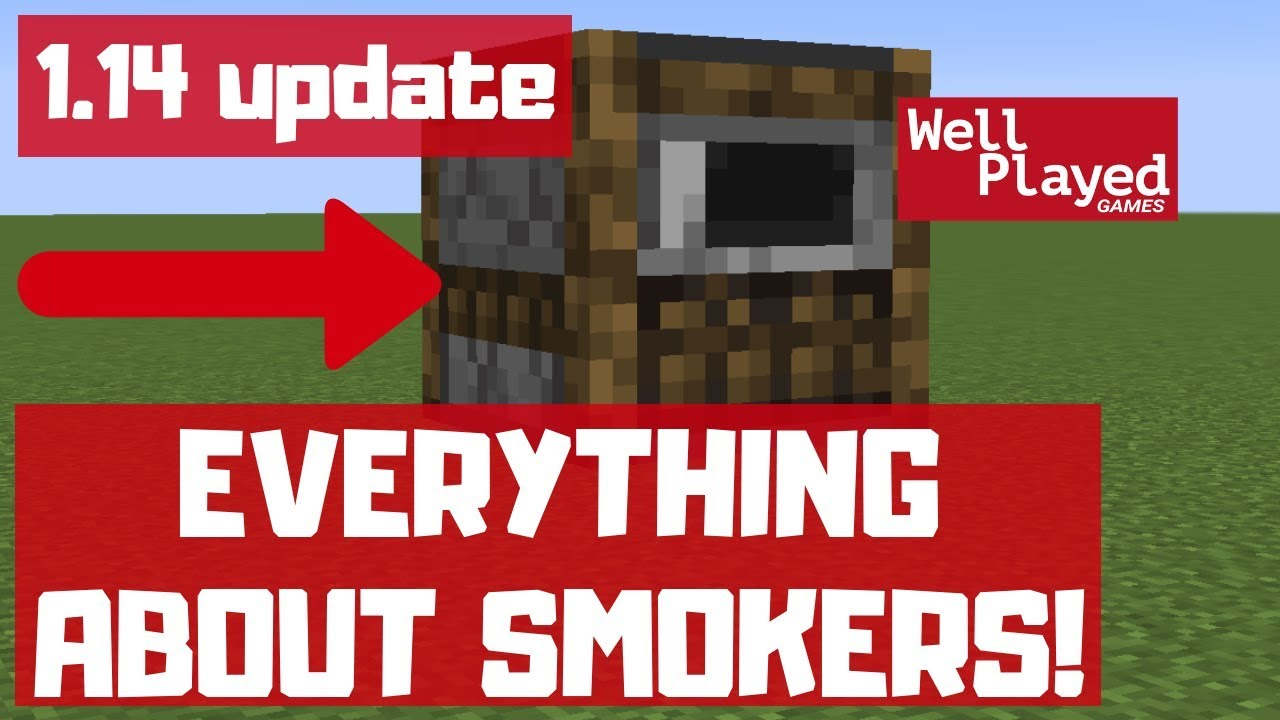 Smoker: Everything you need to know  Minecraft 29.294 Update