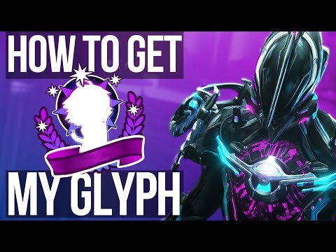 How to get my Glyph in Warframe!