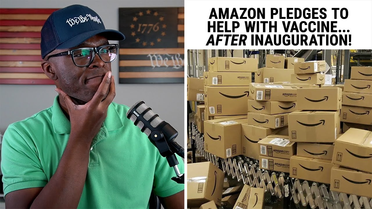 Amazon Vows To Help BIDEN With The Vaccine... But NOT Trump?