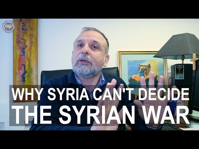 Why Syria can't decide the Syrian war