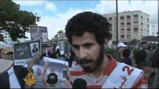 Protesters Demand Reform in Morocco (April 24 Protests)