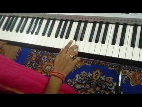 Telugu song O madhu on keyboard from movie julayi