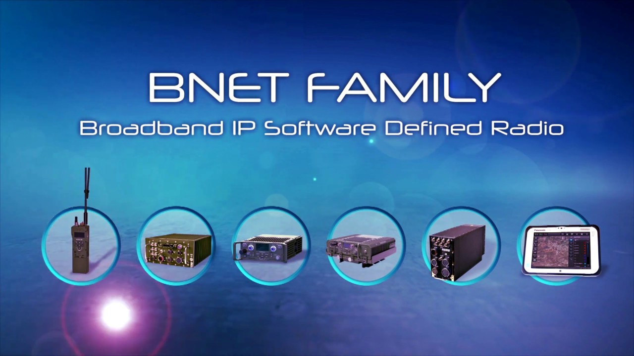 Download RAFAEL's BNET SDR - A New Level of Tactical Communications