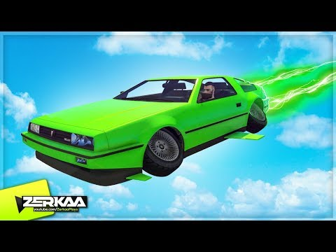 NEW FLYING CARS IN GTA 5! (GTA 5)