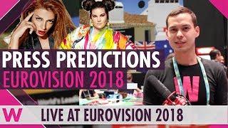 Who will win Eurovision 2018? (Press predictions)
