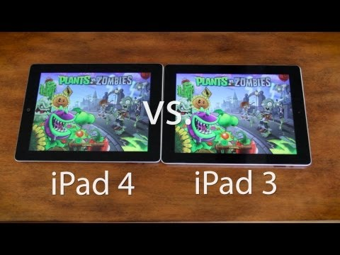 iPad 4th Generation vs 3rd Generation Speedtest & Gaming Performance (iPad 4 vs iPad 3)