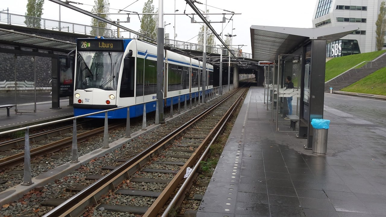 how to pay from trams in amsterdam