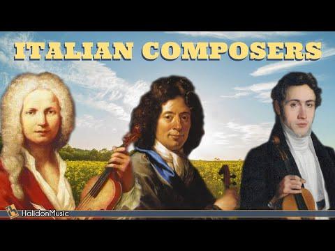 Italian Classical Composers: Vivaldi, Paganini, Verdi, Corelli...