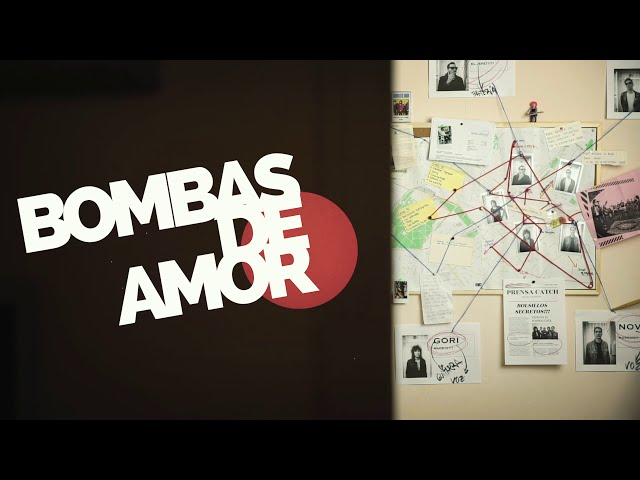 BOMBAS DE AMOR - Bolsillos Secretos (Video Clip)
