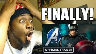 Marvel's Avengers   Official Reveal Trailer (E3 2019)   REACTION & REVIEW