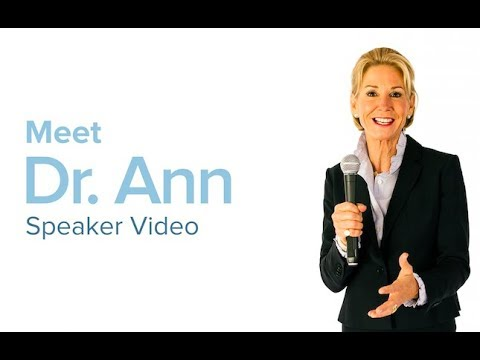 Dr. Ann Speaker Video