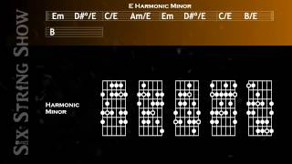 E Harmonic Minor Guitar Backing Track