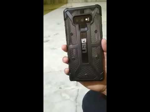 quality design a7039 a45e2 UAG Plasma Ash color Note 9 Black India