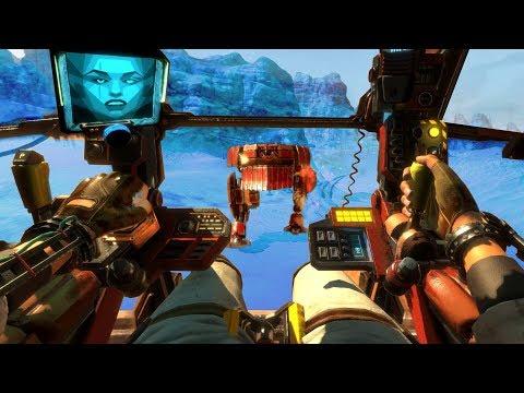 FIRST PERSON MECH PILOT - Vox Machinae (VR)