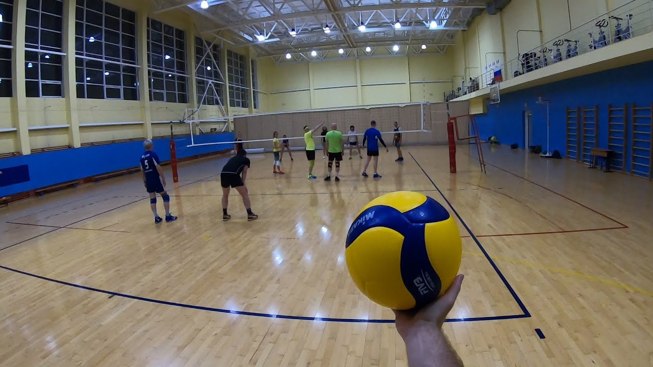 Волейбол от первого лица | Сломали камеру | Школа олимпийского резерва | (POV) | FIRST PERSON GAME