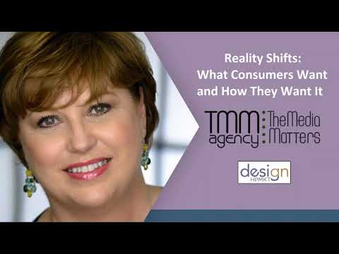 Reality Shifts: What Consumers Want and How They Want It