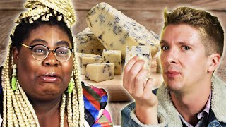 People Try Stinky Cheeses