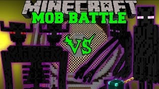ENDER TITAN VS MUTANT ENDERMAN & ENDER LORD - Minecraft Mob Battles - Farlanders Mods