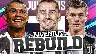 REBUILDING JUVENTUS!!! FIFA 19 Career Mode