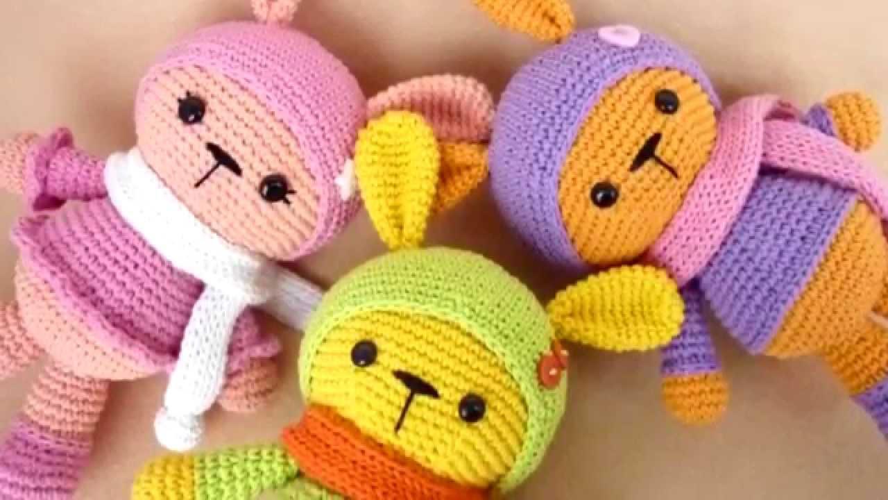 Вязание крючком игрушки амигуруми схема вязания видео