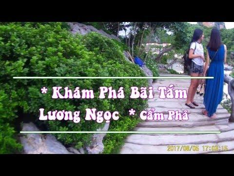 TRAVEL IN VIETNAM  kỷ niệm du lịch bãi tắm Lương Ngọc - Quang Hanh - Quảng Nịnh  01646354514