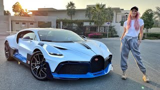 I AM DRIVING THE $8M BUGATTI DIVO!