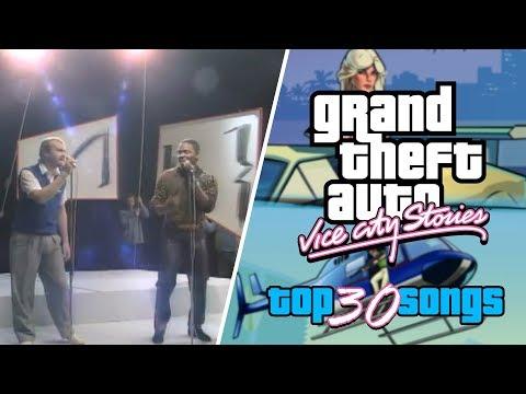 GTA Vice City Stories - Top 30 Songs