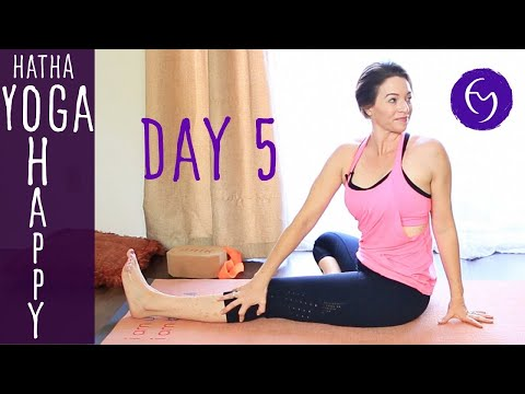 "Day 5 Hatha Yoga Happiness: Enjoy the ""Now"" with Fightmaster Yoga"