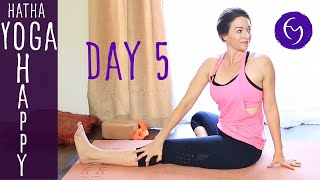 Day 5 Hatha Yoga Happiness: Enjoy the