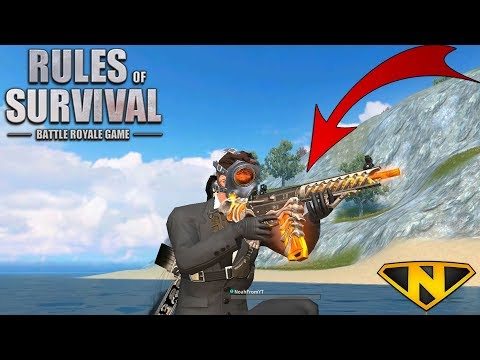 *NEW* GRAVE DIGGER AR-15! + HAZMAT MASK PULL!? (Rules of Survival)
