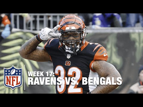 Jeremy Hill Takes It In for the Big 38-Yard TD! | Ravens vs. Bengals | NFL