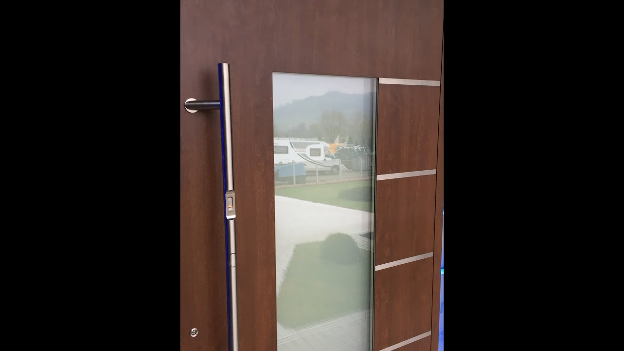 Electronic Switchable Glass In Front Door Lcd Glass Youtube