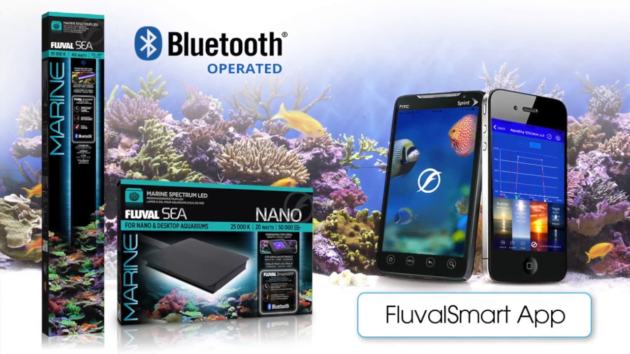 info voor top mode schattig FluvalSmart App Operation // Marine 3.0 Bluetooth LED