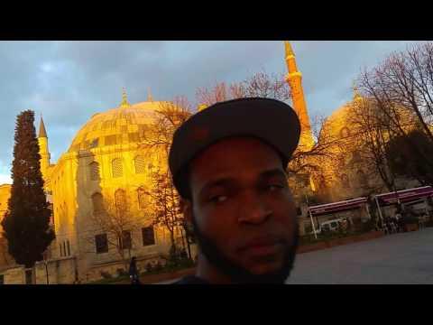 Hagia Sophia and  Blue Mosque, a walking tour. Istanbul Turkey