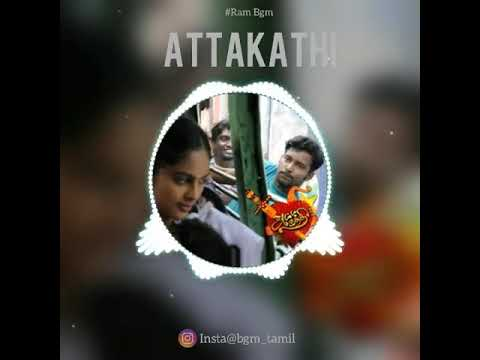 Attakathi BGM🎶🎵🎻🎼🎹 | Rock Level