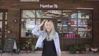Number76 | Galaxy-Themed Hair Color Makeover feat. Denise Chan