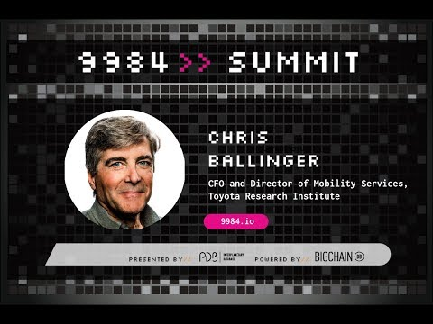 Chris Ballinger, Toyota Research Institute | The Future of Mobility