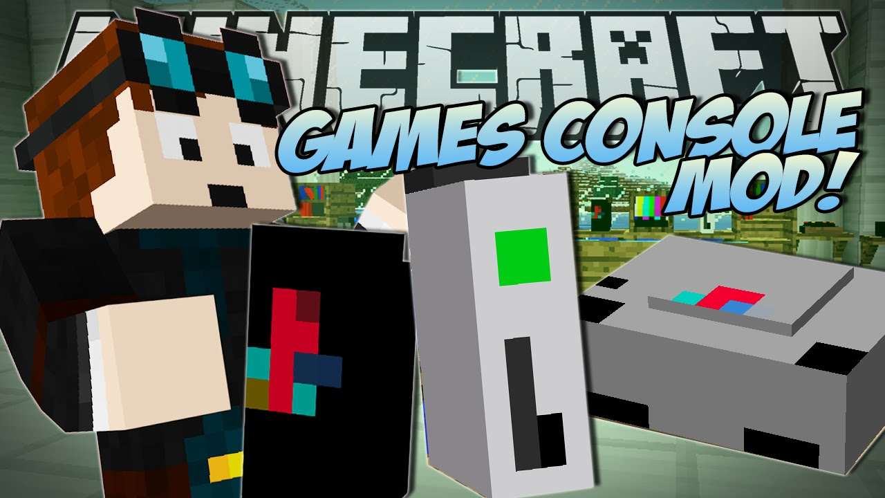 Minecraft GAMES CONSOLE MOD Xbox Playstation More Mod - Minecraft minecraft spiele