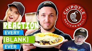 EVERY CHIPOTLE EVER | Dan Ex Machina Reacts