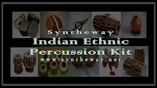 Indian Ethnic Percussion Instruments In Syntheway Kit VSTi v1.2 Software (Win Mac)