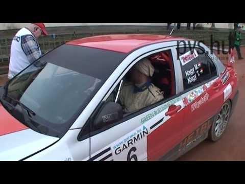 Nagy Mátyás - Nagy Tamás - Mitsubishi Lancer Evo IX - 9 Eger Rallye